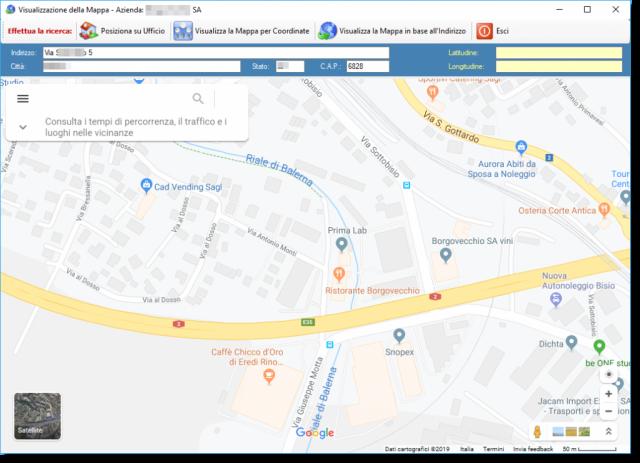 Mappa Cliente